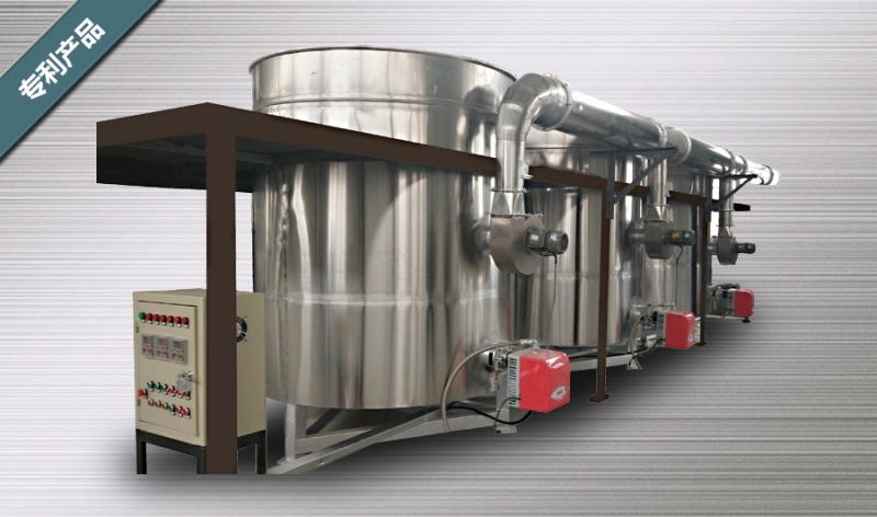 吴忠液套式天然气煮锅(专利产品)