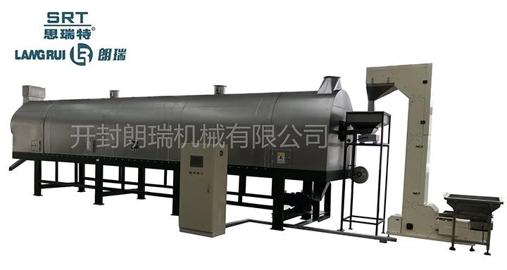 江西新型双控温直燃式自动炒锅