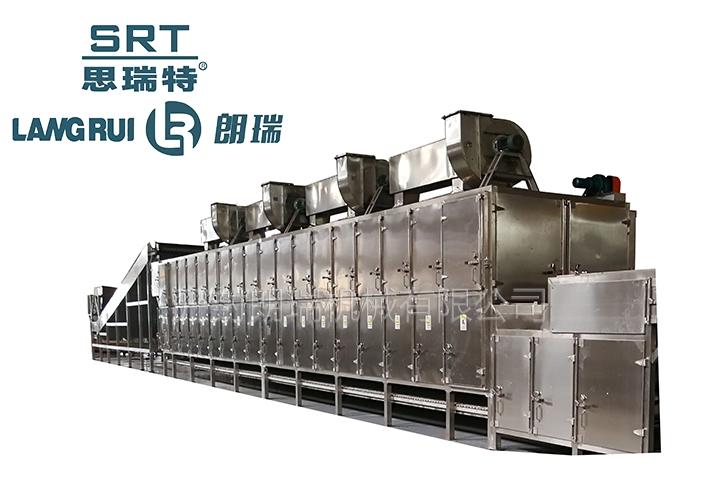 江西2020款双侧热风循环网带式干燥机