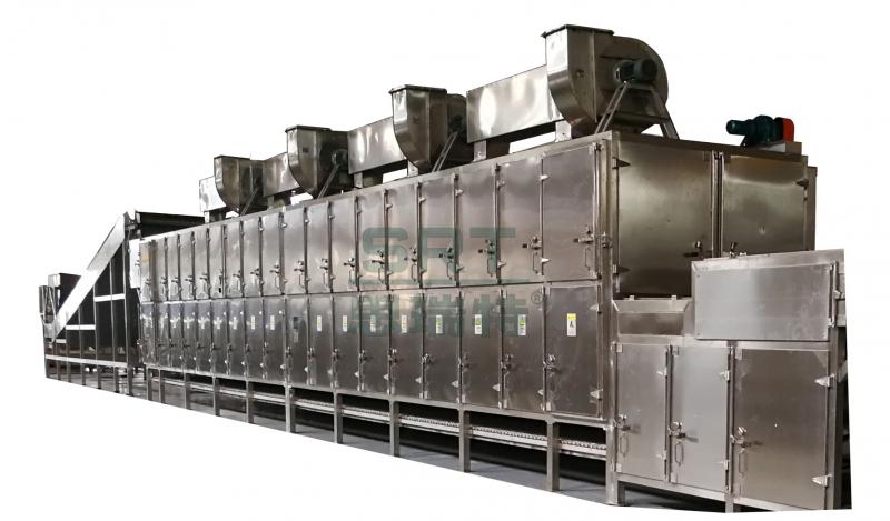 苏州热风双侧循环网带式干燥机